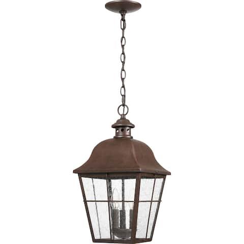 Millhouse Copper Bronze 3-light Outdoor Lantern