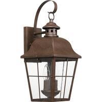 Millhouse Copper Bronze 2-light Outdoor Lantern