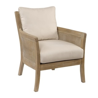 Link to Uttermost Encore Sandstone Exposed Arm Chair Similar Items in Living Room Chairs