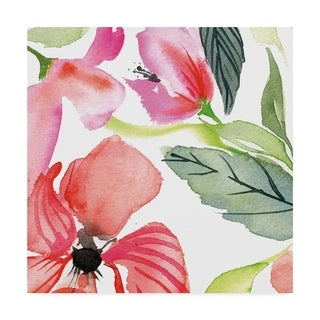 Kristy Rice 'Bloom To Remember Iii' Canvas Art