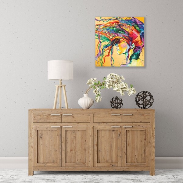 ArtWall Windswept Wood Pallet Art