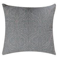 """Softline Linette Embroidered 20"""" x 20"""" Poly-filled Decorative Pillows"""