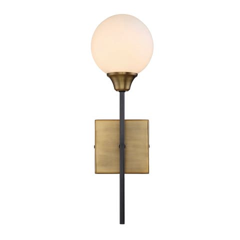 Carson Carrington Henningsvaer 1-light Bronze/Brass Wall Sconce