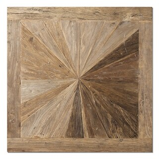 Uttermost Hoyt Natural Wooden Wall Panel