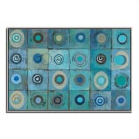 Silvia Vassileva 'Underwater Mosaic' Fine Art Giclee Print on Gallery Wrapped Canvas