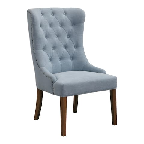 Uttermost Rioni Weathered Pecan Wing Chair
