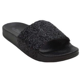 9fd375ea52a7 Buy Black Women s Sandals Online at Overstock