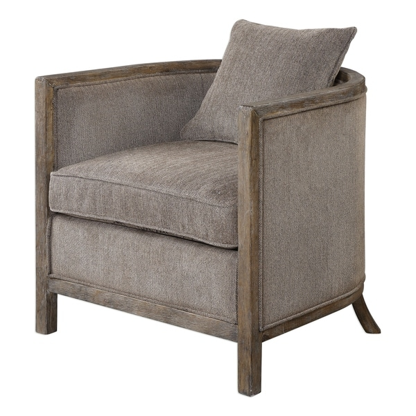 Uttermost Viaggio Weathered Exposed Accent Chair. Opens flyout.