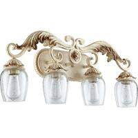 Florence Persian White 4-light Vanity Lighting