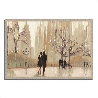 'An Evening Out Neutral' by Julia Purinton Gallery-wrapped Giclee Print Wall Art