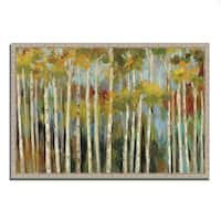 'Young Forest III' by Silvia Vassileva, Fine Art Gallery Wrapped Giclee Canvas Wall Art