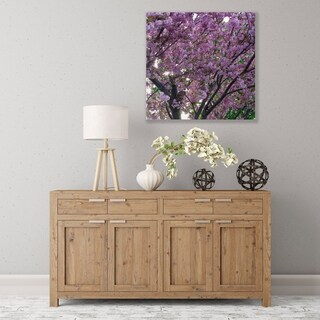 ArtWall Spring Flowers Wood Pallet Art