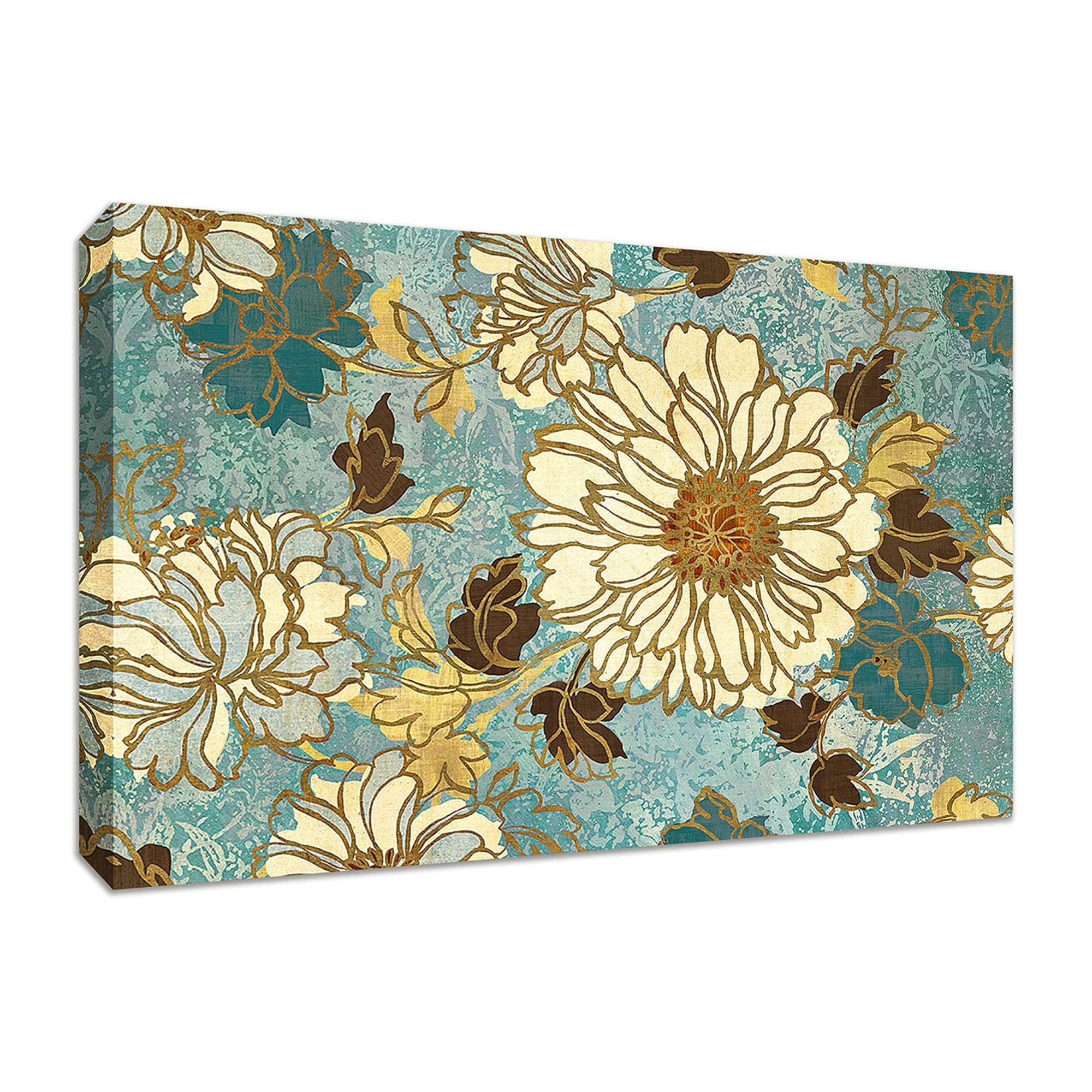 Fine Art Giclee Print on Gallery Wrap Canvas Wall Flower III By Wild Apple Portfolio Ready to Hang