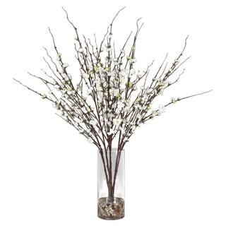 Uttermost Quince Blossoms Cream Silk Centerpiece