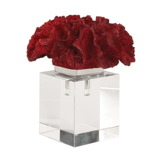 Link to Uttermost Red Coral Cluster Similar Items in Accent Pieces