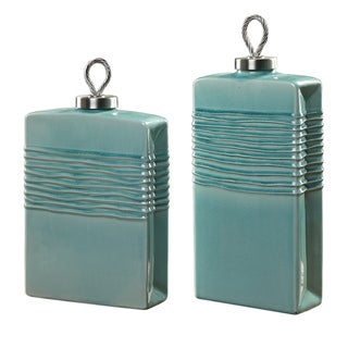 Uttermost Rewa Green Containers (Set of 2)