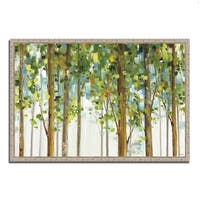 Lisa Audit 'Forest Study I' Framed Gallery-wrapped Ready-to-hang Fine Art Giclee Print on Canvas