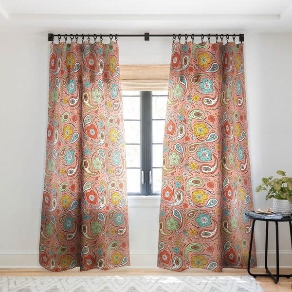 Heather Dutton Adora Paisley Single Panel Sheer Curtain - 50 X 84. Opens flyout.