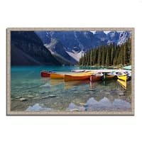 """""""Lake Moraine"""", Fine Art Giclee Print on Gallery Wrap Canvas, Ready to Hang"""