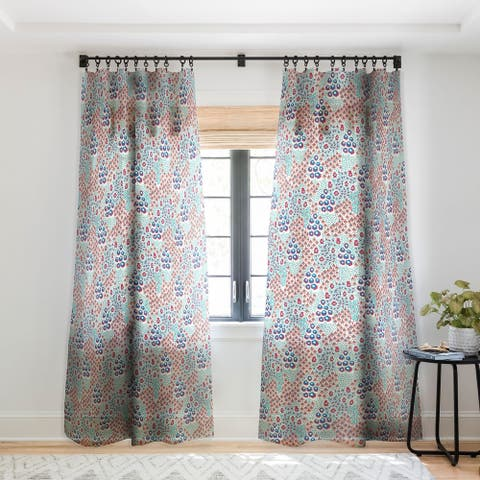 Holli Zollinger Liberty Natural Single Panel Sheer Curtain - 50 X 84