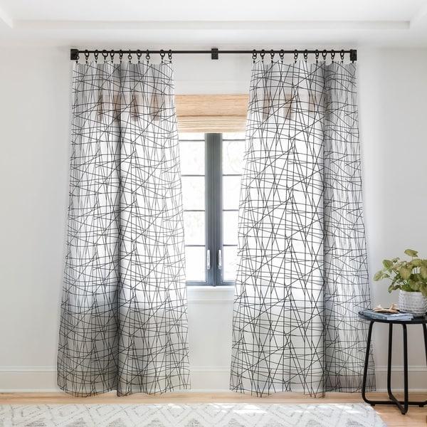Gabriela Fuente Architecture Single Panel Sheer Curtain - 50 X 84