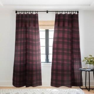 Gabriela Fuente Winterland 2 Single Panel Sheer Curtain
