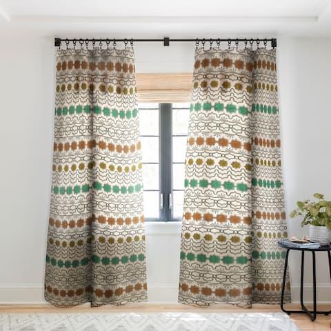 Dash and Ash Planted and Grow Single Panel Sheer Curtain - 50 X 84