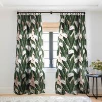 Marta Barragan Camarasa Sweet floral Desert Single Panel Sheer Curtain - 50 X 84