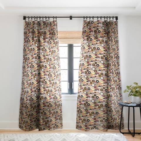 Sharon Turner Mountain Earth Single Panel Sheer Curtain - 50 X 84