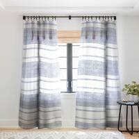 Holli Zollinger Capri Stripes Single Panel Sheer Curtain - 50 x 84