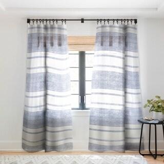 Holli Zollinger Capri Stripes Single Panel Sheer Curtain