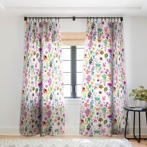 Stephanie Corfee Garden Baby Single Panel Sheer Curtain - 50 X 84