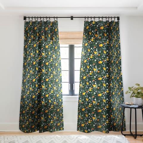 Iveta Abolina Lyonette Single Panel Sheer Curtain - 50 X 84