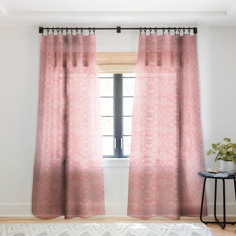 Viviana Gonzalez Modern Improvisation 03 Single Panel Sheer Curtain - 50 X 84
