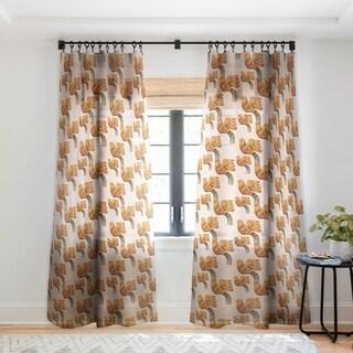 Viviana Gonzalez Ethnic vibes 01 Single Panel Sheer Curtain