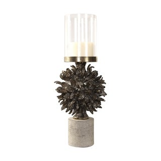 Uttermost Autograph Tree Antique Bronze Candleholder