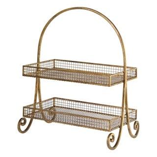 Uttermost Callen Antiqued Metallic Gold Basket