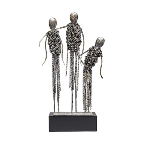 Uttermost Avi Antiqued Bronze Sculpture