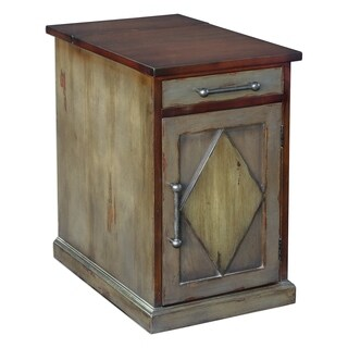 Uttermost Charcoal and Honey End Table
