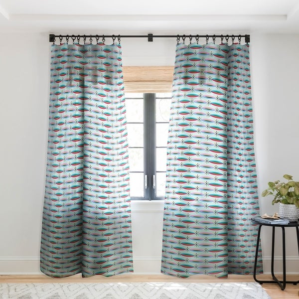 Andi Bird Way Cool Single Panel Sheer Curtain - 50 X 84. Opens flyout.
