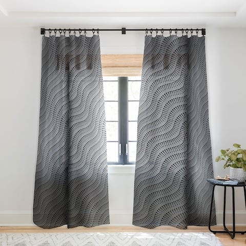 Heather Dutton Coral Reef Single Panel Sheer Curtain - 50 X 84
