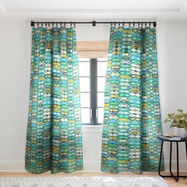 Sharon Turner Sagar Ikat Single Panel Sheer Curtain - 50 X 84. Opens flyout.