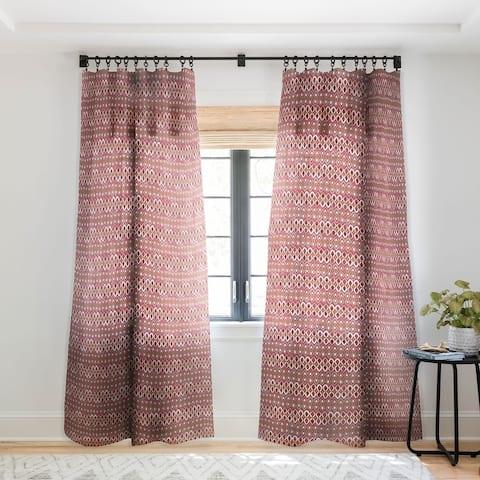 Sharon Turner Chilli Pestle Single Panel Sheer Curtain - 50 X 84