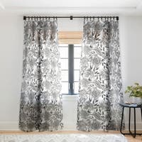 Holli Zollinger Summertime Natural Single Panel Sheer Curtain - 50 X 84