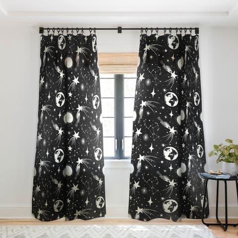 Heather Dutton Solar System Single Panel Sheer Curtain - 50 X 84
