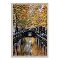 """""""Canal Reflections"""", Fine Art Giclee Print on Gallery Wrap Canvas, Ready to Hang"""