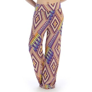 Casual wear pants thick waist line, flared cut