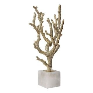 Uttermost Coraline Light Antiqued Silver Sculptures