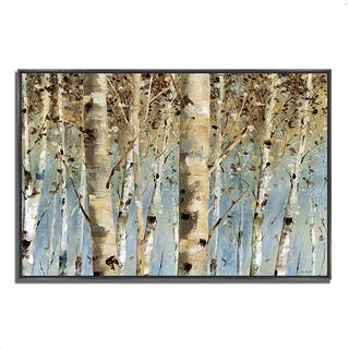 Lisa Audit 'White Forest I' Gallery Wrapped Fine Art Giclee Print