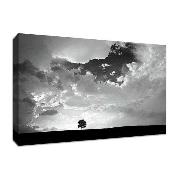 """Lone Tree"" by Aledanda, Fine Art Giclee Print on Gallery Wrap Canvas, Ready to Hang thumbnail"